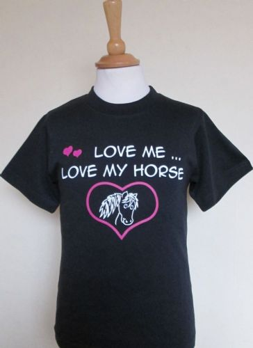 British Country Collection 'Love Me, Love My Horse' T-Shirt